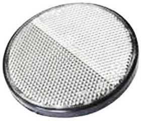 Picture of WHITE ADHESIVE ROUND REFLECTOR D.60