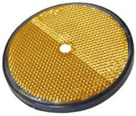 Picture of ROUND REFLECTOR D.85 ORANGE