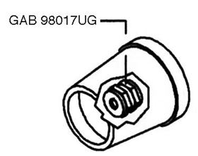 Picture of NOZZLE FOR GALM23 BOX 2 PCS