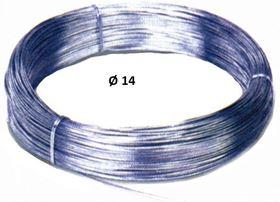 Image de CABLE ACIER EN BOBINES DE 100 MT D.14