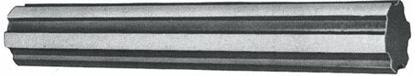 "Image de BARRE CANNELEE 1""3/4 LG. 250 MM"