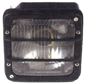 Picture of 2 FUNCTION FRONT LIGHT -P.V.C - SQUARE