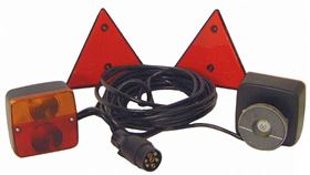 Image de KIT MAGNETIC CABLE 6MT 2 TRIANGLES