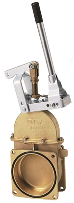 """Picture of Hand lever for gate valve, Diameter 6"""""""