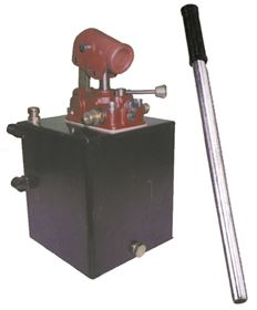Picture of HYDRAULIC HAND PUMP-2 LT. TANK