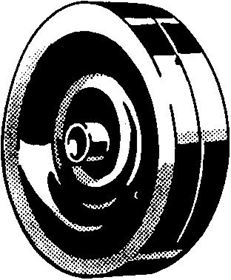 Picture of PLATE SMOOTH WHEELS FOR BEARING 500X150 SC 62X62