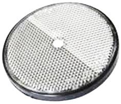 Picture of ROUND REFLECTOR-WHITE-BOX 2 PCS