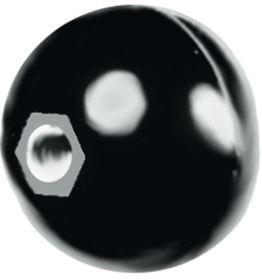Picture of MANOPOLA ROT. DIAM. 0 CON FIL. M10 BOX 2 PZ.
