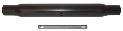 Picture of TUBO PER 3P LG.720 FIL.30X3 ZINCATO S/ INGRASSATORI