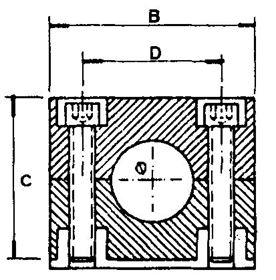 Immagine di BLOCCH.FERMAT.1 POSTO D.22 IN SACCH.1 PZ