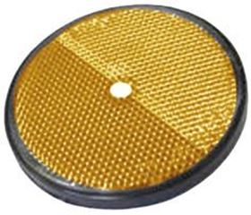 Picture of ROUND REFLECTOR D.85 ORANGE