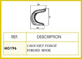 Picture of FORGED HOOK