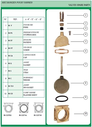 """Picture of BRASS ROD TO SUIT RI716 6"""""""