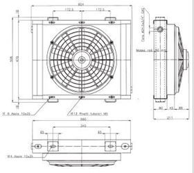 Picture of ELECTRIC FAN 12 V. FOR WPT
